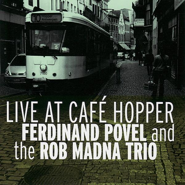 "Featured recording ""Live at Cafe Hopper"""